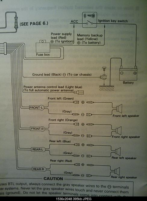 Wiring diagram for Kenwood KRC-5001? - The Saleen Forums at ... on
